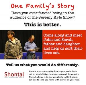 One Family's Story Flyer